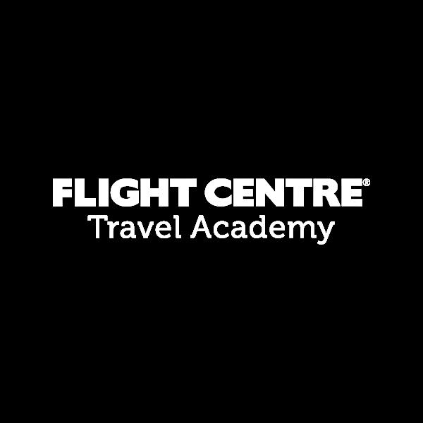 Flight Centre Travel Academy Business Logo