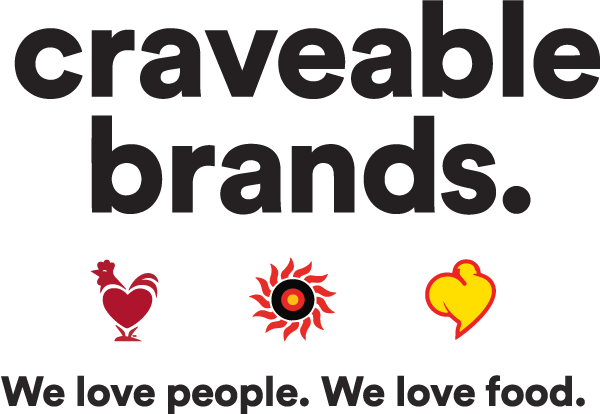 craveable brands. logo