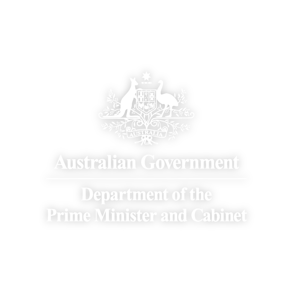 Dept. of the Prime Minister and Cabinet Business Logo