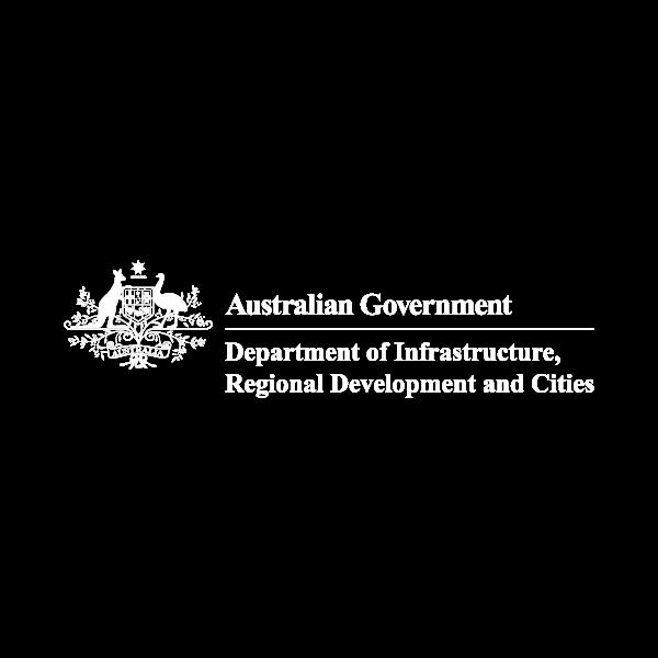 Department of Infrastructure, Transport, Regional Development and Communication Business Logo