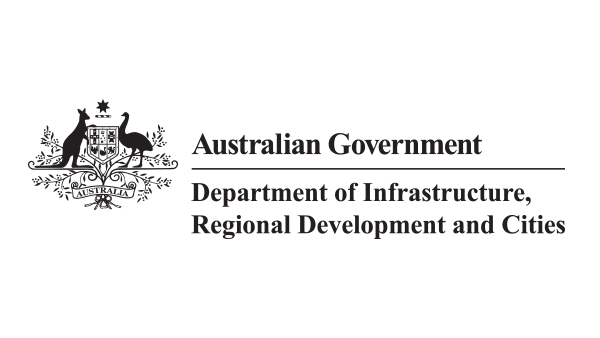Department of Infrastructure, Transport, Regional Development and Communication logo
